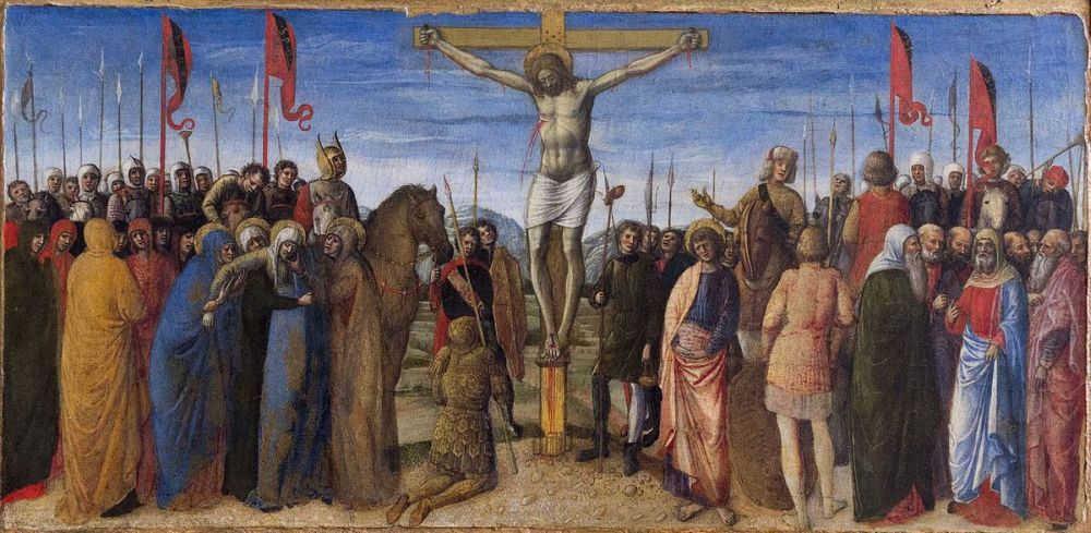 The Crucifixion, Jacopo Bellini
