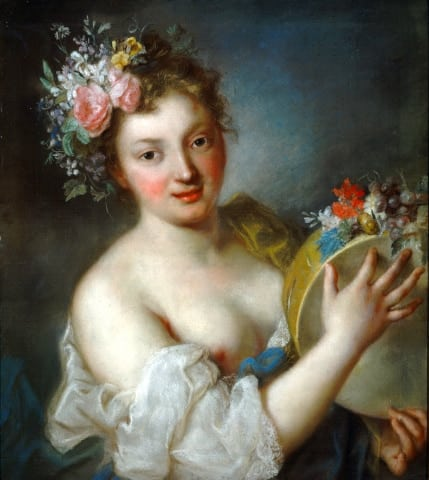 Allegory of Music, Rosalba Carriera