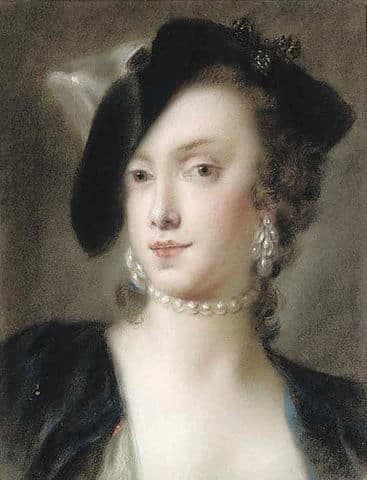 Caterina Sagredo Barbarigo, Rosalba Carriera