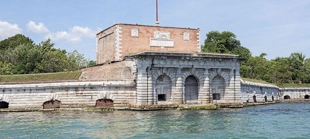 Fort Sant Andrea, Venice - detail, Michele Sanmicheli