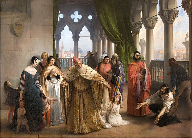 Francesco Hayez, The last meeting, Milan, private collection