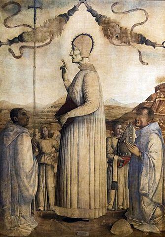 Gentile Bellini, Blessed Lorenzo Giustinian, 1465, Gallerie dell'Accademia, Venice