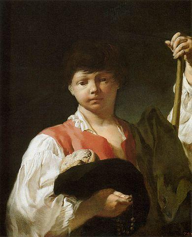 Giovanni Battista Piazzetta, Le garçon mendiant, Art Institute of Chicago