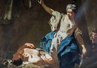 Giovanni Battista Piazzetta, Judith et Holopherne, Scuola Grande dei Carmini, Venise
