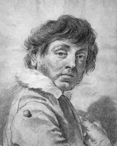 Giovanni Battista Piazzetta, Autoportrait, Musée national Thyssen-Bornemisza, Madrid
