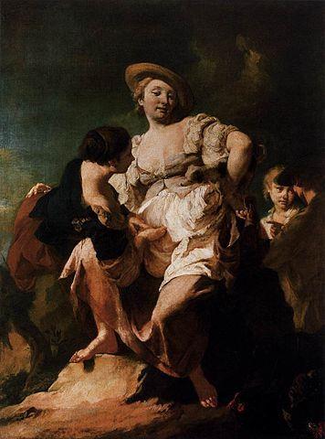 Giovanni Battista Piazzetta, Le devin, Accademia, Venise