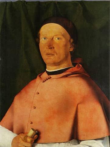 Portrait of Bishop Bernardo de' Rossi