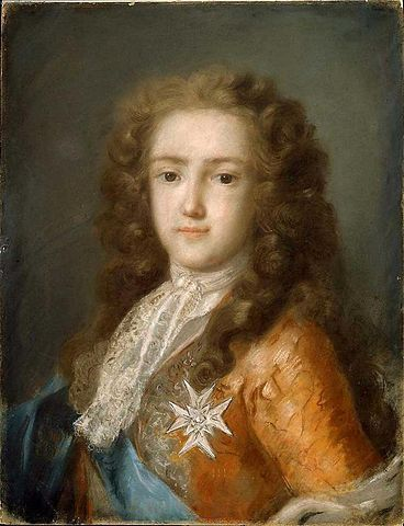 Louis XV of France, Rosalba Carriera