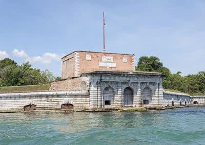Michele Sanmicheli, Fort Sant Andrea, Venice