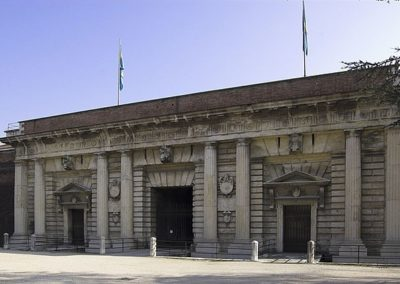 Porta Palio in Verona, external side