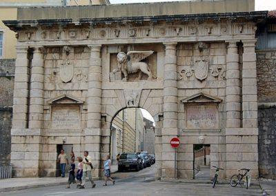 Porta Terraferma in Zadar