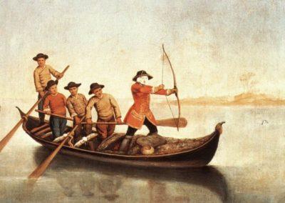 Pietro Longhi, Duck Hunters on the Lagoon, Fondazione Querini Stampalia, Venice