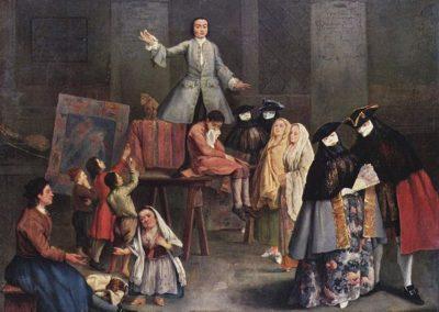 Pietro Longhi, The Tooth Extractor, Palazzo Brera, Milan