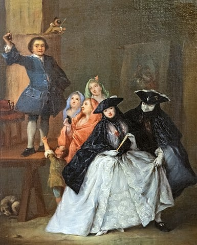 Pietro Longhi, The charlatan, Ca' Rezzonico, Venice