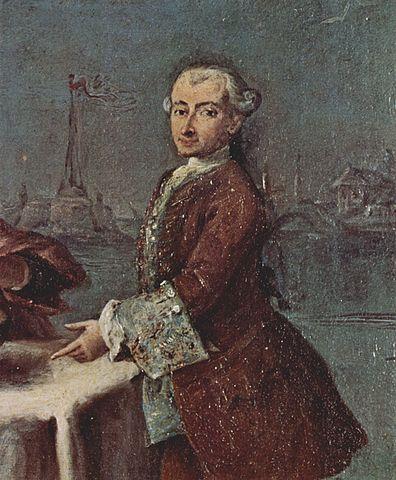 Pietro Longhi, alleged self-portrait, Ca' Rezzonico, Venice