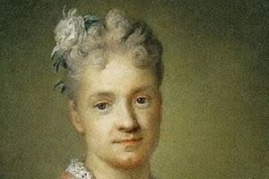 Rosalba Carriera Self-portrait - detail