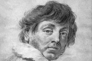 Self portrait - Giovanni Battista Piazzetta Venetian artist, Rococo painter of religious subjects and genre scenes