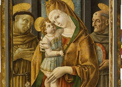 Madonna and Child with Saints, Carlo Crivelli, Walters Art Museum, Baltimore