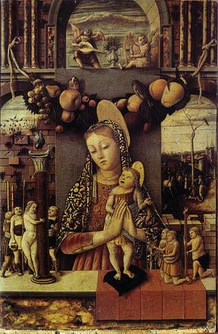 Madonna of the Passion, Castelvecchio museum, Verona
