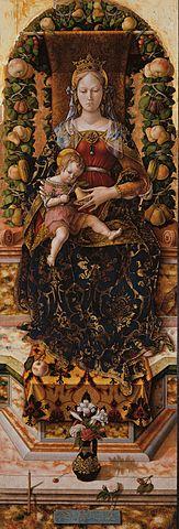 Madonna of the candle, Pinacoteca di Brera, Milan