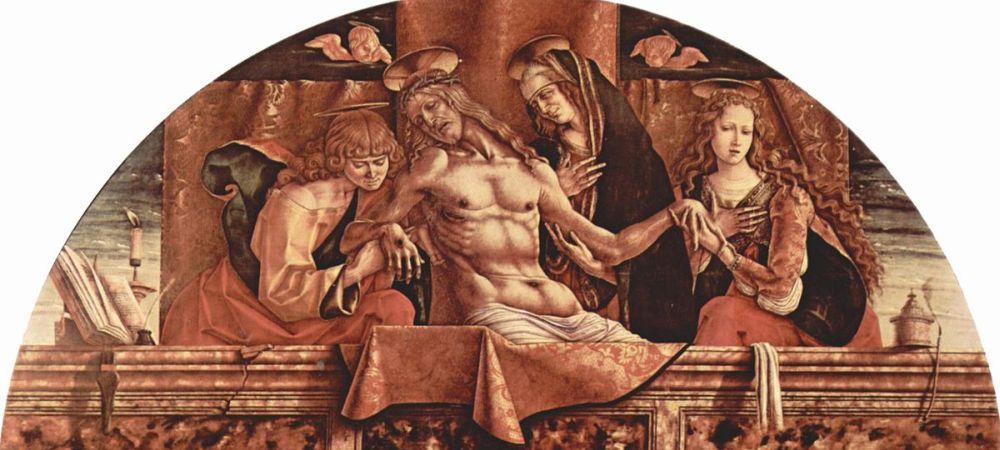 Pietà, Palazzo Brera, Milan, Italy - detail