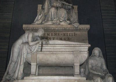 Monument to Clement XIV by Antonio Canova, Basilica of the Holy Apostles, Rome