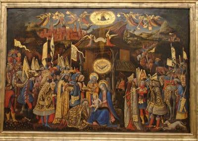 Adoration of the Magi, 1445-1447, Gemäldegalerie - Staatliche Museen, Berlin