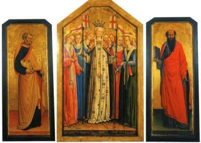 Polyptych of Saint Ursula, 1440-1445, Brescia, Museo diocesano
