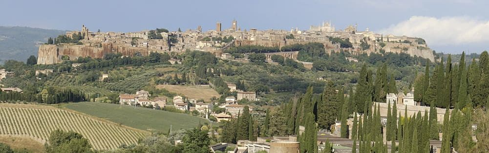 Orvieto, Umbria region located in the center of Italy.