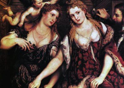 Venus, Flora, Mars and Cupid - 1550s - oil on canvas - The Hermitage Museum, Saint Petersburg, Russia