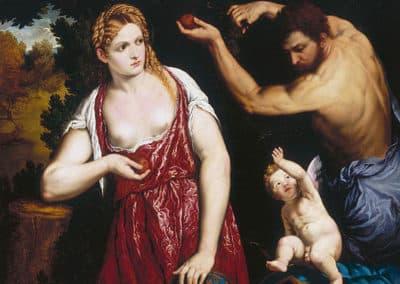 Venus and Mars with Cupid, 1559–1560. Doria Pamphilj Gallery, Rome