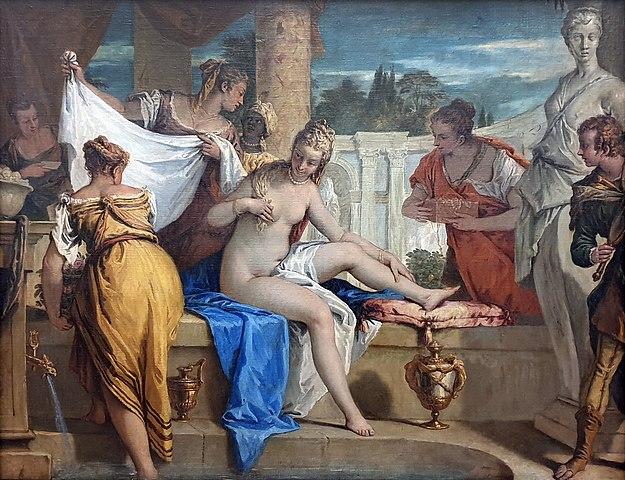 Bathsheba in the bath, 1725, Gemäldegalerie, Berlin