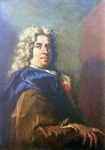 Sebastiano Ricci self-portrait, 1704, Florence, Uffizi Gallery